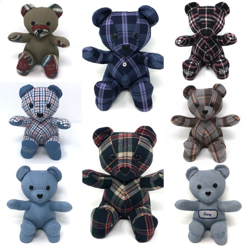 memory bears for the whole family