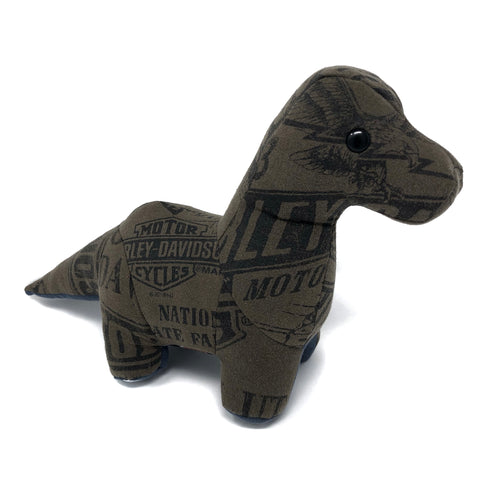 memory dino made from a shirt