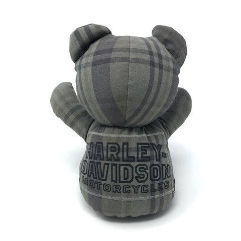 harley shirt teddy bear