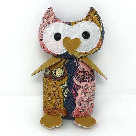 baby keepsake owl stuffed animal
