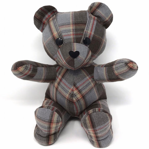 memory bear flannel shirt