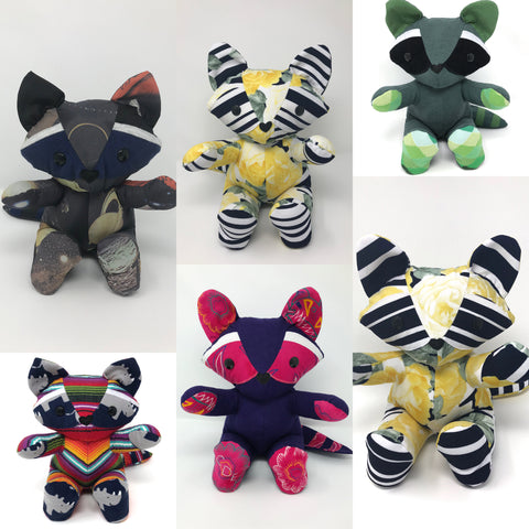 raccoon stuffed animals