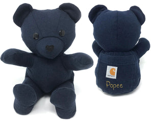 Keepsake Memory Teddy Bear, LARGE - Nestling Kids Keepsakes