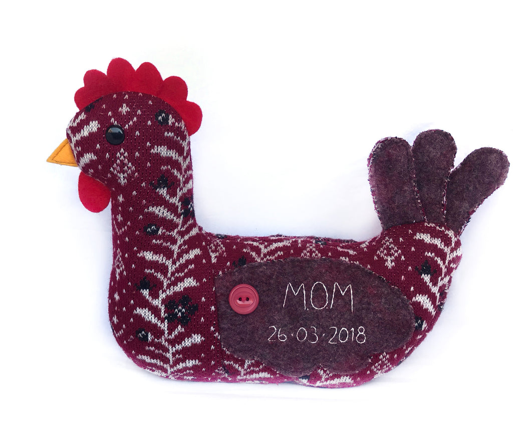 Keepsake Memory Rooster, LARGE
