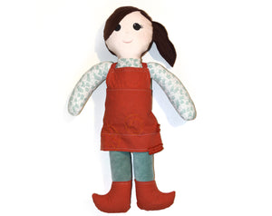Custom Keepsake Cloth Doll