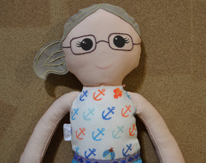 Custom Keepsake Cloth Doll - Nestling Kids Keepsakes