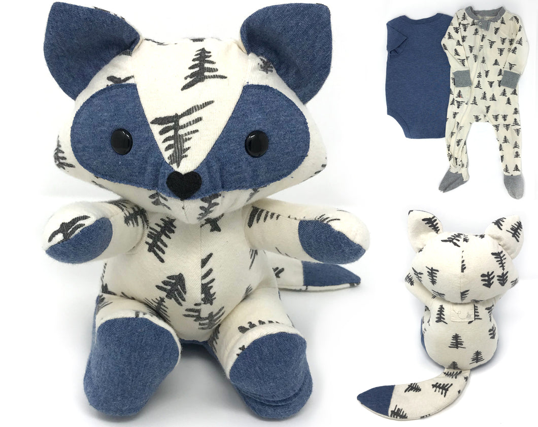 Keepsake Memory Fox - Nestling Kids Keepsakes