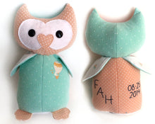 Keepsake Memory Owl, LARGE