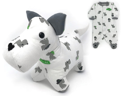 Keepsake Memory Scottie Dog - Nestling Kids Keepsakes