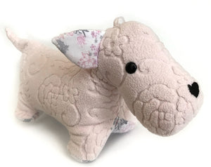 Keepsake Memory Scottie Dog, LARGE - Nestling Kids Keepsakes