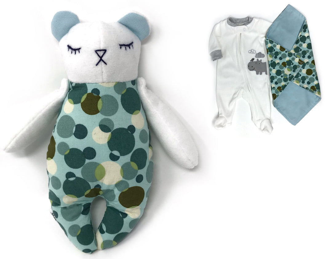 Weighted Keepsake Tiny Bear - Nestling Kids Keepsakes