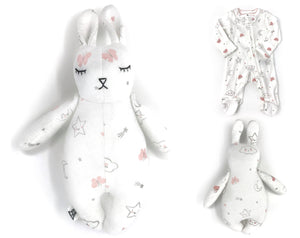 Keepsake Tiny Sleepy Bunny - Nestling Kids Keepsakes