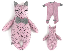 Keepsake Tiny Sleepy Kitty Cat - Nestling Kids Keepsakes