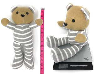 Keepsake Birth Weight Teddy Bear - Nestling Kids Keepsakes