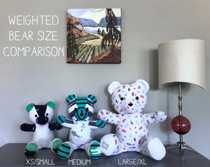 Extra Large 10-13lbs Keepsake Weighted Teddy Bear