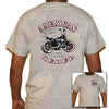 "Camiseta motera manga corta ""American Rebel"" (Biker T-Shirt ""American Rebel"") - Lauda Shopping"