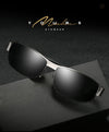 Gafas de sol de aluminio polarizadas hombres (Men polarized sunglasses for Men) - Lauda Shopping