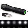 Linterna táctica resistente de leds 8.000 lumens usos varios con soporte para bicicleta (LED 8000 Lumens Bicycle Light and Holder)