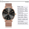 Reloj de mujer 2019 con movimiento de cuarzo (New 2019 Women Watch Business Quartz)
