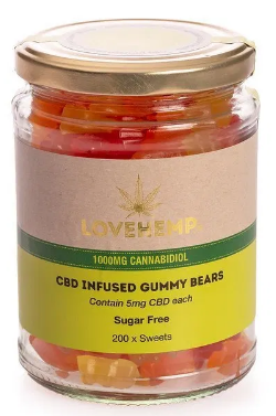 LOVE HEMP® CBD GUMMY BEARS  סוכריות גומי סיבידי