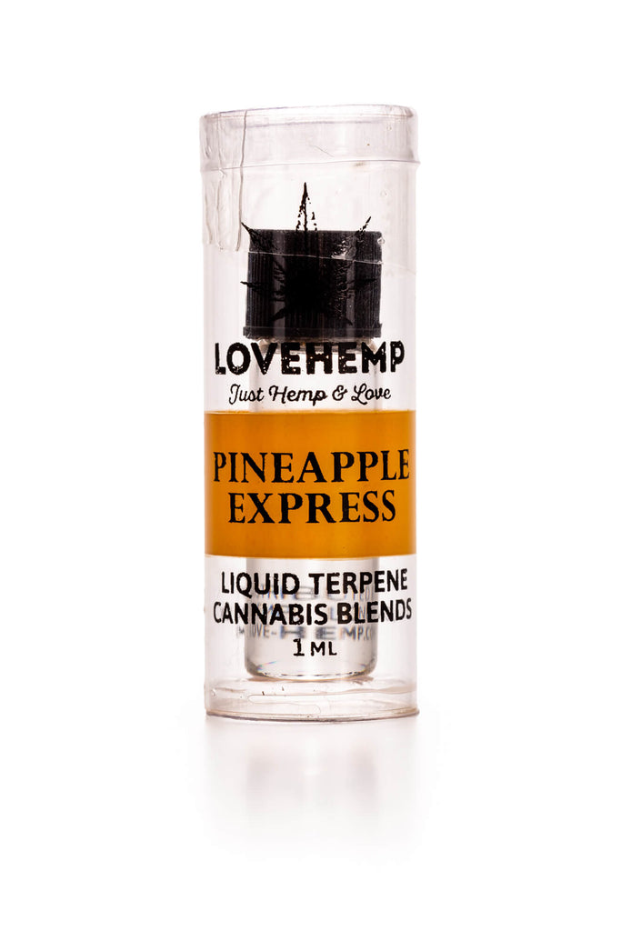Love Hemp® Liquid Terpenes Pineapple Express 1ml canabd טרפנים