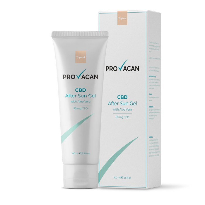 Provacan® 50mg CBD 100ml  קרם לאחר שיזוף