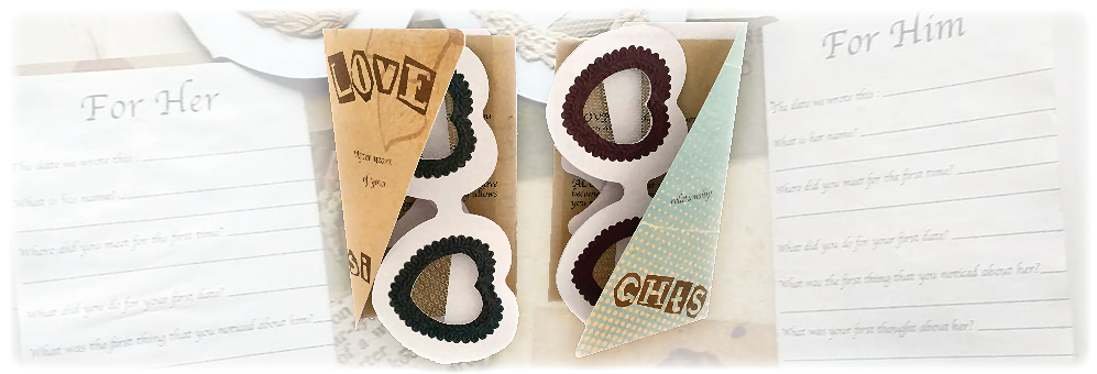 Love Sights glasses and cards by Lovira