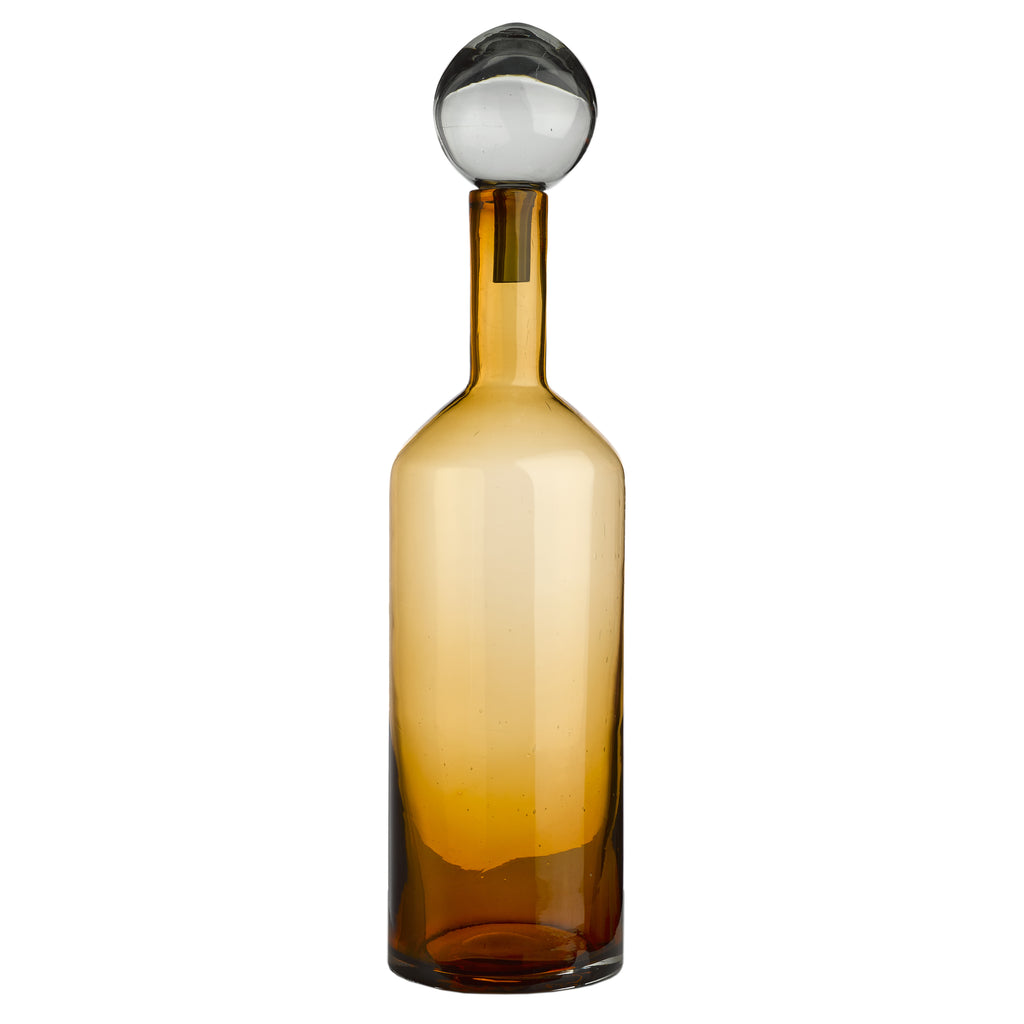 Bubbles & Bottles grand format jaune bulle grise