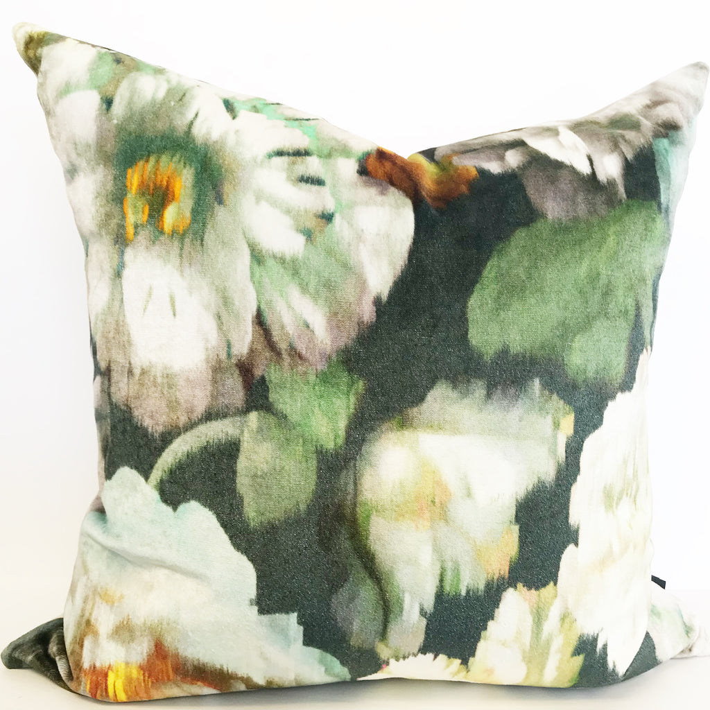 Coussin Herbaria Obsidian Black Edition