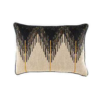 Coussin Josephine Deep Black Elitis