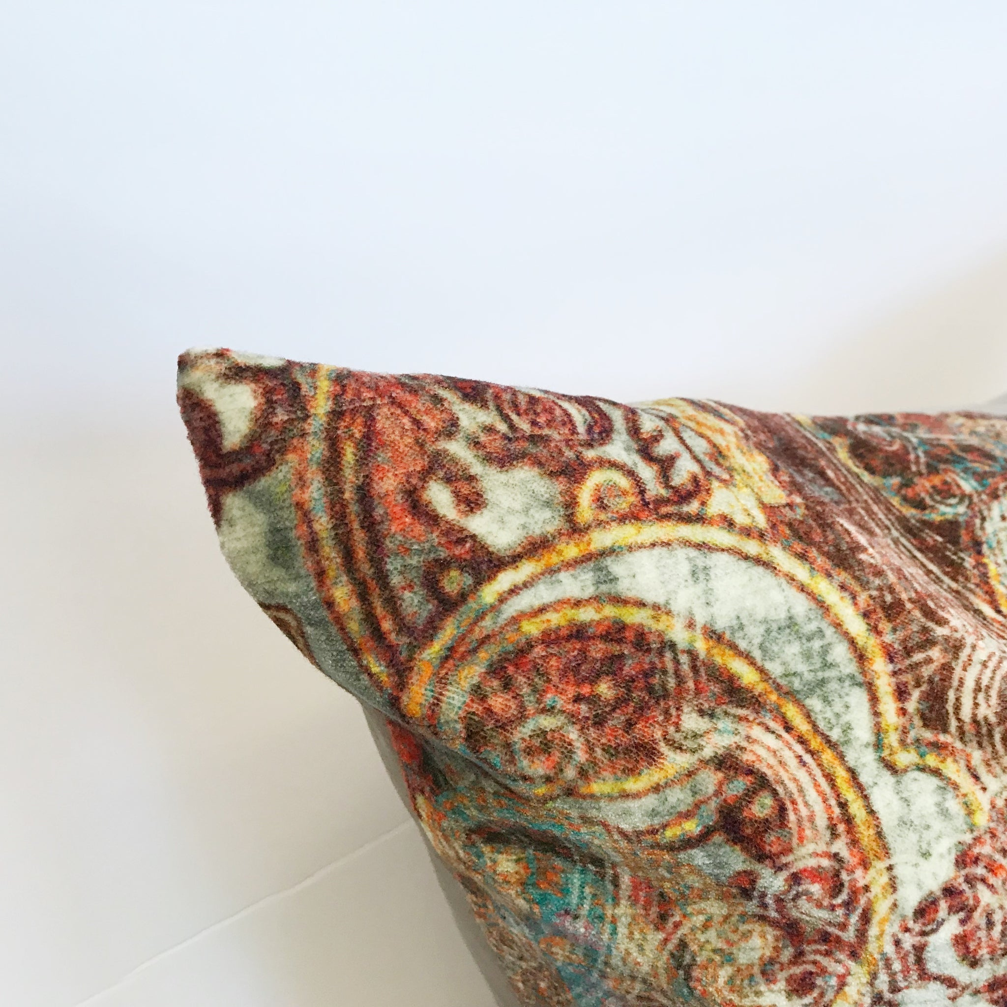 Coussin Maroque Cinabar