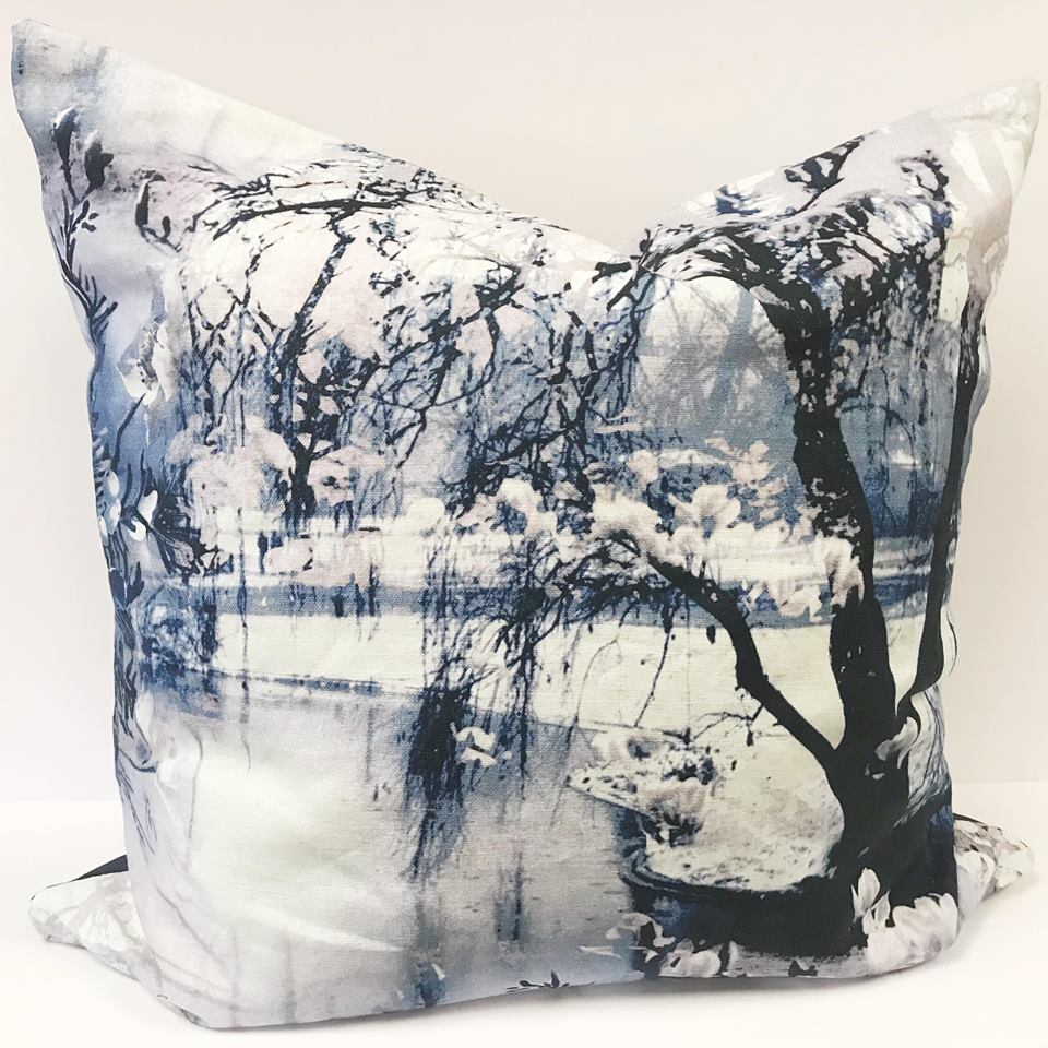 Coussin nature tissu Jean-Paul Gaultier