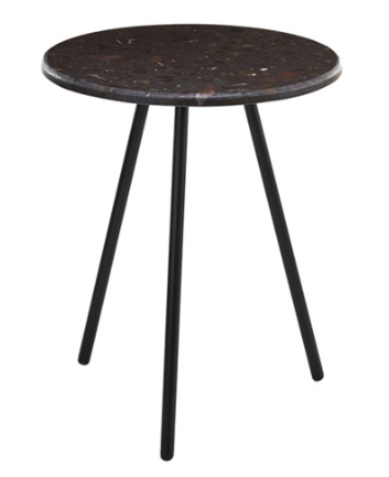 Table d'appoint Stony marron