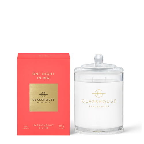 GLASSHOUSE - One Night In Rio Candle