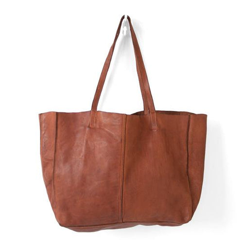 JUJU & CO - Unlined Leather Tote