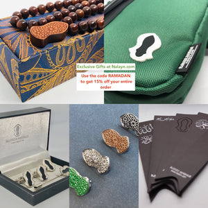 Nalayn tasbih bag cufflinks lapel bins bookmarks