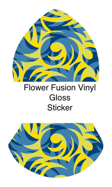 Vinyl Sticker in the silhouette of the Blessed Sandal
