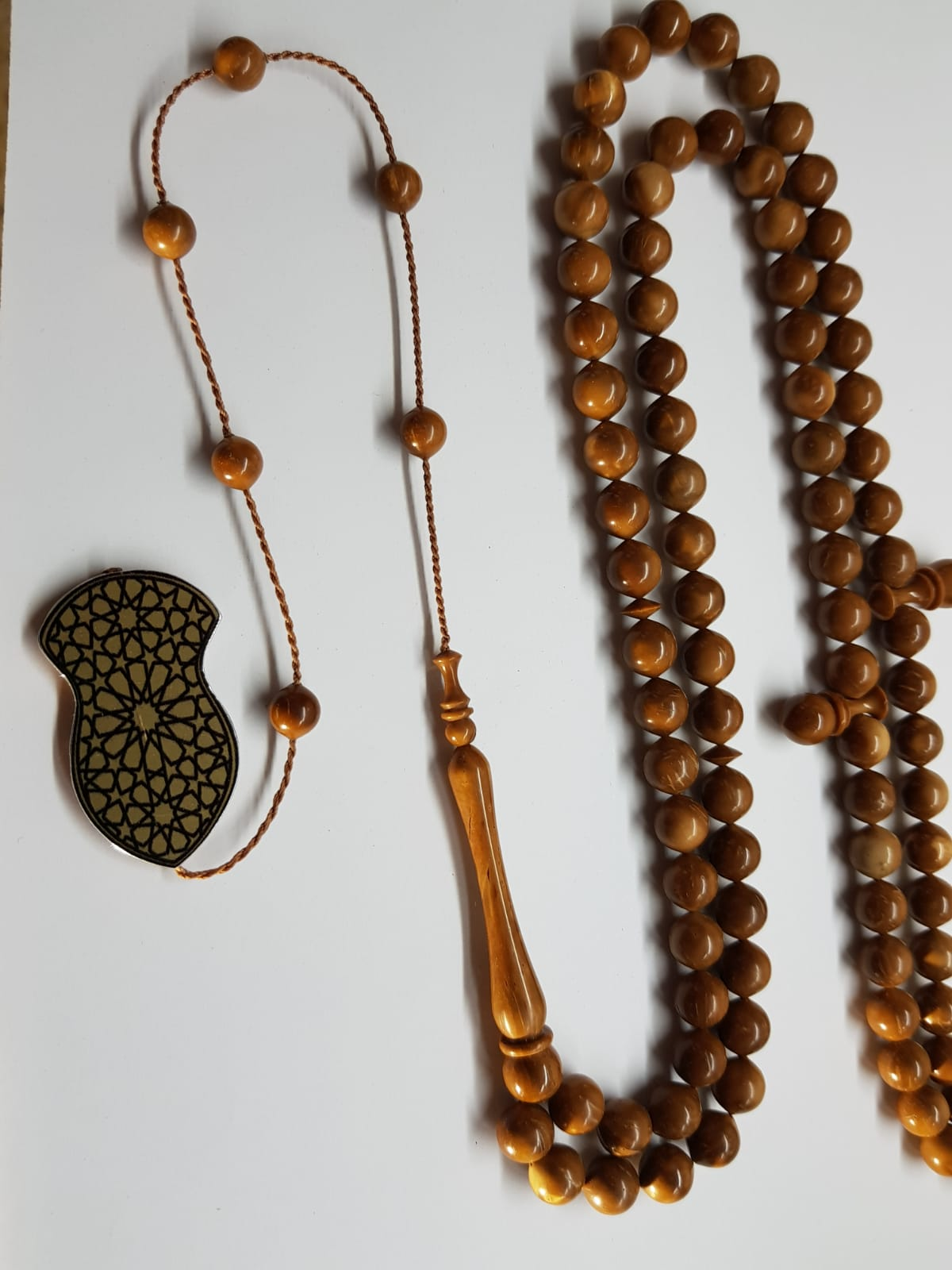 Exclusive Unique Collectors Item - Artisan Hand Made Kuku Wood Tasbih