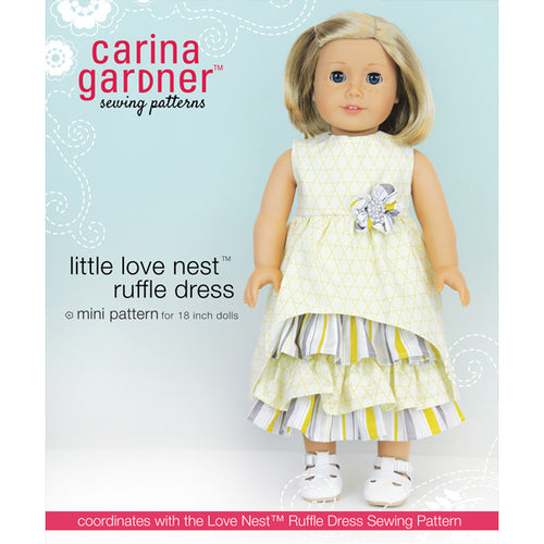 Little Love Nest Ruffle Dress Sewing Pattern