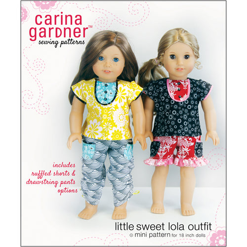 Little Sweet Lola Outfit Sewing Pattern