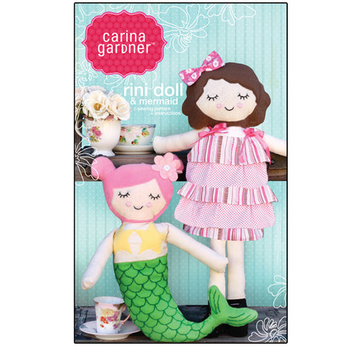 Rini Doll and Mermaid Doll Sewing Pattern