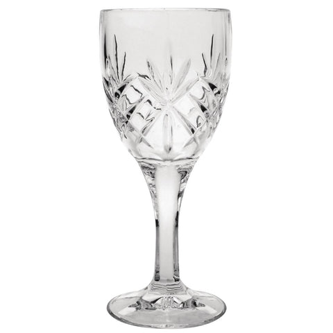 Olympia Old Duke Wine Glass 280ml (Box of 6)