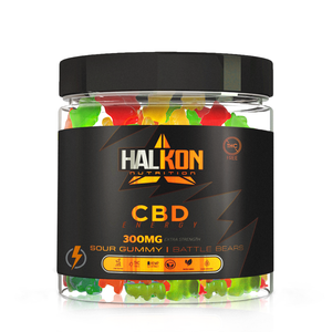 HALKON - Battle Bears (CBD Energy Caffeine)