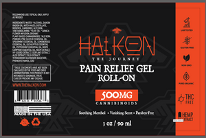 HALKON - CBD Pain Relief Gel Roll-On