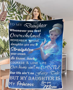Christmas limited time discount 50%- My Princess - Blanket