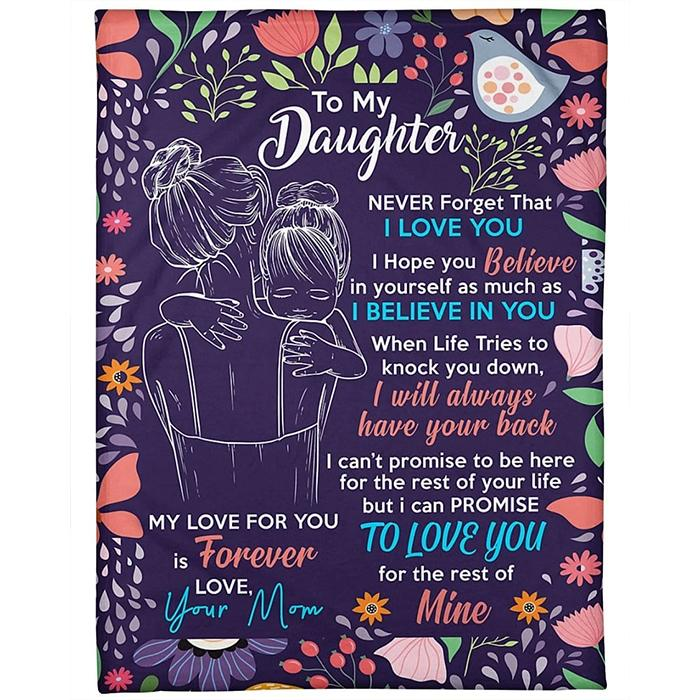 50% OFF Best Gift-To My Daughter, Love Your Mom-Blanket