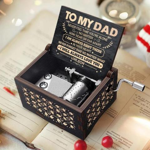 Son To Dad ( Never Feel That You're Alone ) Black Music Box