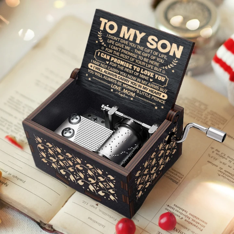 Mom To Son ( I Will Always Carry You In My Heart ) Black Music Box