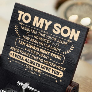 Mom To Son ( Never Feel That You're Alone ) Black Music Box-Harry Potter