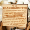 Grandpa to Granddaughter ( I'M ALWAYS RIGHT THERE IN YOUR HEART ) Engraved Music Box